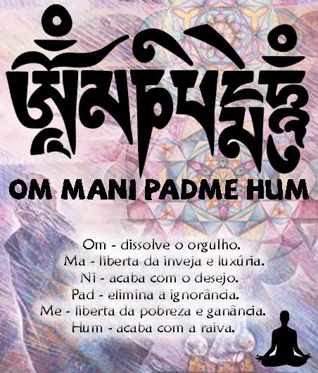Resultado de imagem para MANTRA OM-MANI-PADME–HUM E A CURA DA MENTE
